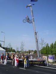 verticaal fietsen