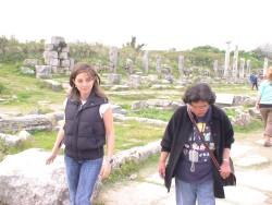 Selma en Sylvia in Perge
